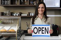 The legal identity of a business purchaser